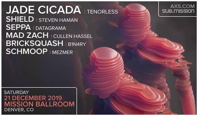 Jade Cicada holiday EDM show in Denver
