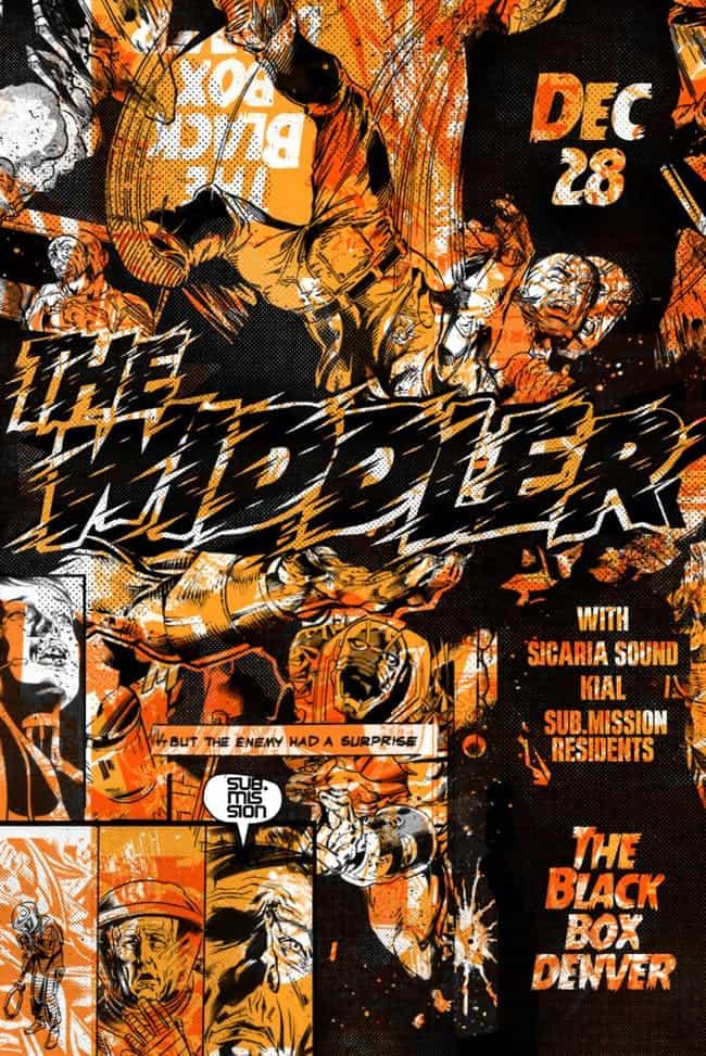 The Widdler in Denver for Christmas EDM